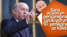 Devlet Bahçeli'den Kılıçdaroğlu'na bekçi cevabı
