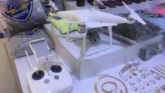 Drone'lu hırsızlık çetesi çökertildi