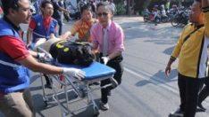 Endonezya'da el bombası patladı 2 çocuk öldü