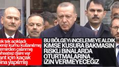 Erdoğan: Kartal'da meydana gelen olay afet değil