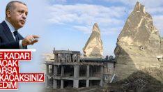 Erdoğan'dan net talimat: Kaçak yapıları yıkın