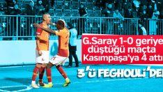 Galatasaray, Kasımpaşa'yı farklı yendi