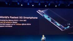 Huawei, merakla beklenen katlanabilir telefonu Mate X'i tanıttı