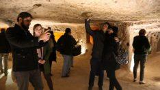 Kapadokya'nın yer altı şehirlerine ziyaretçi akını