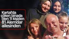 Kartal'da çöken binadan geriye Alemdar ailesinin fotoğrafı kaldı