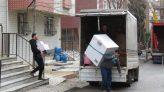 Kartal'da riskli binalarda tahliye işlemleri devam ediyor