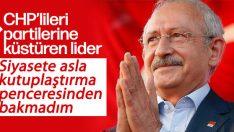 Kılıçdaroğlu: Siyasete kutuplaşma penceresinden bakmadım