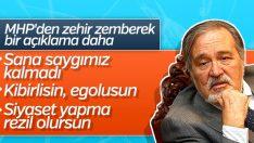 MHP'li Semih Yalçın'dan İlber Ortaylı'ya cevap