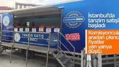 Mobil tanzim satışı Gaziosmanpaşa'da başladı