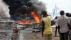 Nijerya'da yakıt tankeri patladı: 7 ölü