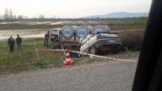 Otomobil ile süt kamyonu çarpıştı: 1 ölü