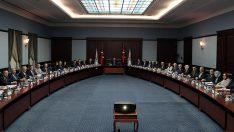 Erdoğan, Ankara Seçim İşleri İnceleme ve Onaylama Komisyonu Toplantısı'na Katıldı