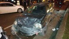 Samsun'da 5 araç birbirine girdi