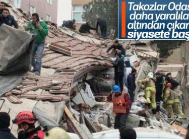 TMMOB'den Kartal'da çöken bina değerlendirmesi