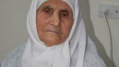 107 yaşındaki Mümine Nine'nin sağlık sırrı