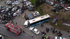 Beyazıt'taki feci kazada öğretim görevlisinin iki ayağı koptu