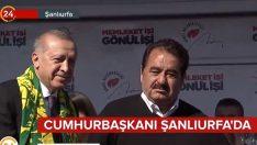 İbrahim Tatlıses, Başkan Erdoğan'ın düzenlediği mitinge katıldı