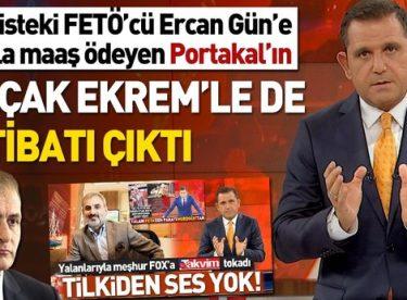 Amerikan tilkisi FOX TV'nin sunucusu Fatih Portakal FETÖ'den ifade vermiş!