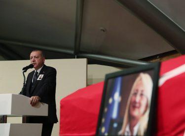 Cumhurbaşkanı Erdoğan, Prof. Dr. Dedeoğlu'nun Cenaze Törenine Katıldı