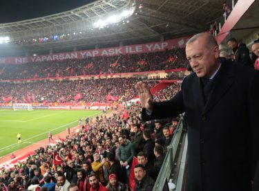 Cumhurbaşkanı Erdoğan, Türkiye–Moldova Futbol Maçını İzledi