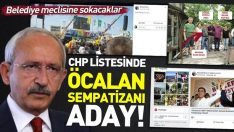 CHP Antalya'da Öcalan sempatizanı Mustafa İlhan'ı aday gösterdi!