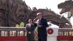 Son dakika: Cumhurbaşkanı Erdoğan Ankapark'ı açtı