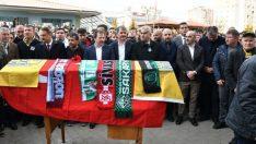Kazada Ölen Ankaragücü Taraftarı Mert Turgut Çakır'a Son Görev