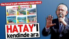 """Kemal Kılıçdaroğlu'nun """"baraj gafı"""" vatandaşları kızdırdı"""