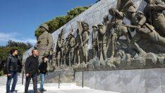 Sözlü'den Çanakkale Şehitlerine Vefa Ziyareti