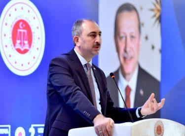 """Bakan Gül: """"2018 Yılında 208 Bin 14 Dosya Uzlaşma ile Sonuçlandı"""""""