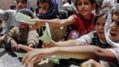 Açlıkla mücadele için aileler çocuklarını satıyor