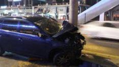 Avcılar'da trafik kazası: 1'i ağır, 6 yaralı