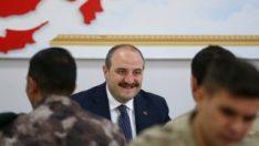 Bakan Varank terörle mücadelede başarı sağlanan Tuncelide