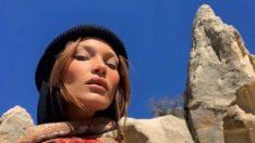 Bella Hadid Mert Alaş ile Kapadokya'da