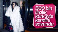 Bülent Ersoy 500 bin TL'lik kürkünü giydi