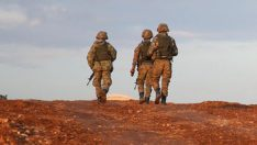 Mardin'de teröristlerin sığınak olarak kullandığı mağaraya operasyon