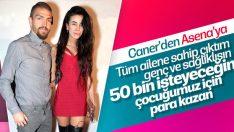 Caner Erkin Asena Atalay'ın nafaka talebine kızdı