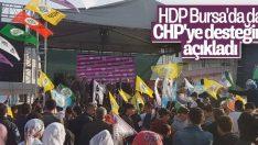 CHP-HDP ittifakı Bursa'da