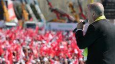 Cumhur İttifakı'nın Ankara mitingine 450 bin kişi katıldı