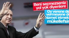 Cumhurbaşkanı Erdoğan'dan Hatay Belediye Başkanı'na tepki