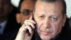 Cumhurbaşkanı ErdoğanYeni Zelanda liderini aradı