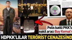 HDP polis katili terörist Zülküf Gezen için seferber oldu