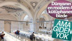 Dünyanın en modern kütüphaneleri açıklandı