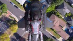 Dünyanın ilk uçan motosikleti: The Speeder