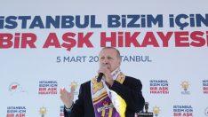 """Erdoğan: """"Millet Bahçeleri ve Kıraathaneleriyle İstanbul'da Yeni Bir Dönem Başlatıyoruz"""""""