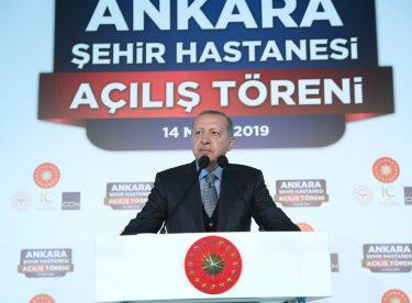 """Erdoğan: """"Her Vatandaşımızın En İyi Sağlık Hizmetlerini Alabileceği Bir Yapı Kurduk"""""""