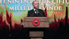 """Erdoğan: """"Kimsenin Üreticimizin Alınterine Göz Dikmesine İzin Vermeyeceğiz"""""""