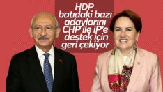 HDP batıda bazı adaylarını geri çekme kararı aldı
