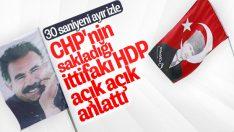HDP: CHP bizim sayemizde kazanacak