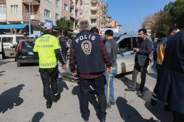 Kadın polisi darbedip yakalandı